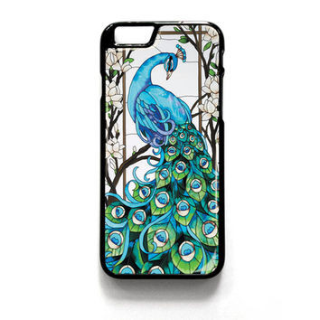 Peacock Tiffany iPhone 4 4S 5 5S 5C 6 6 Plus , iPod 4 5  , Samsung Galaxy S3 S4 S5 Note 3 Note 4 , and HTC One X M7 M8 Case