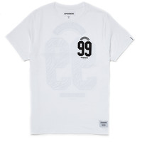 Supremebeing T Shirt with No. of the Beast Print