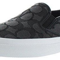 Coach Chrissy Women's Signature Slip On Sneakers Shoes