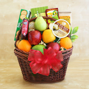 CA Fruitful Greetings Basket Deluxe