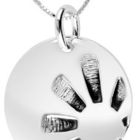 """Sterling Silver """"Nothing Is Worth More Than This Day - Carpe Diem"""" Reversible Pendant Necklace , 18"""""""