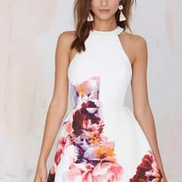 Keepsake To the End Floral Dress
