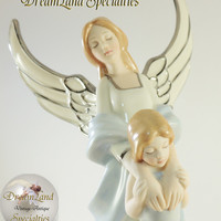 "Bradford Heirloom Porcelain ""Forever My Daughter"" Music Box from DreamLand Specialties"