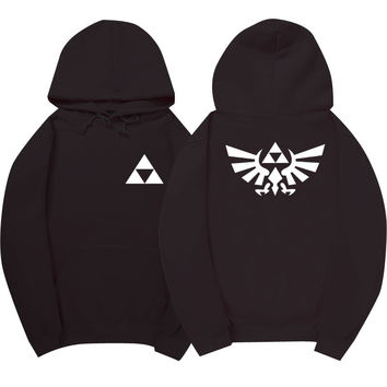 The Legend of Zelda Black Hoodie
