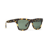 Stussy: Norton Sunglasses - Tortoise HUA / Green
