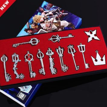 Kingdom Hearts Keyblade Necklace Set!