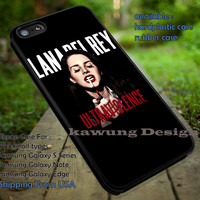Lana Del Rey Ultraviolence iPhone 6s 6 6s+ 5c 5s Cases Samsung Galaxy s5 s6 Edge+ NOTE 5 4 3 #music #lana dt