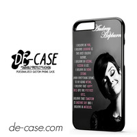 Audrey Hepburn Quote DEAL-1131 Apple Phonecase Cover For Iphone 6 / 6S