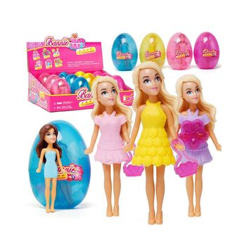 Cute Lovely Play House Girls Doll Gift Children Collection Figure Kids Toy Beautiful Dressing Up Costume Role Play Games