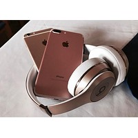 Beats Solo 3 Wireless Magic Sound Bluetooth Wireless Hands Headset MP3 Music Headphone with Microphone Line-in Socket TF Card Slot Gold