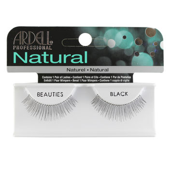 Ardell Invisiband Lashes, Beauties Black, 1 Pair