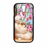 Big Hero 6 Baymax Floral Disney Samsung Galaxy S4 Case