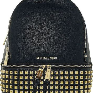 ESBON Michael Kors Rhea Zip Small Studded Backpack