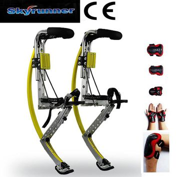 Skyrunner Jump Stilts Adults Kangaroo Shoes Men Women Fitness Exercise