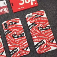 Supreme phone case shell  for iphone 6/6s,iphone 6p/iphone 6sp,iphone 7/8,iphone 7p/8p, iphonex