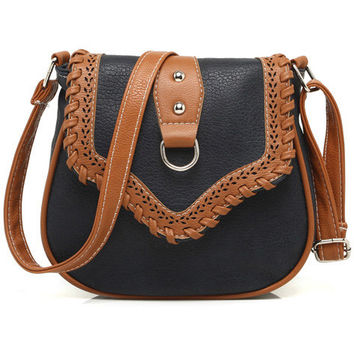 Black Vintage Cutout Bag