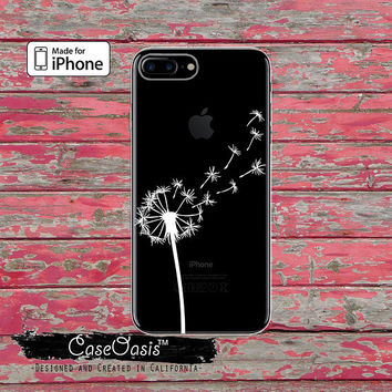 White Dandelion Seeds Cute Tumblr New Clear Case iPhone 6 Plus iPhone 6s iPhone 6s Plus iPhone 5/5s iPhone 5c iPhone SE iPhone 7 Plus Case
