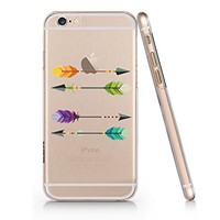 Lucky Arrow Slim Iphone 6 6s Case, Clear Iphone Hard Cover Case For Apple Iphone 6 6s Emerishop (iphone 6)