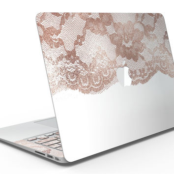 Rose Gold Lace Pattern 2 - MacBook Air Skin Kit