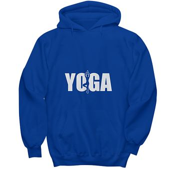 Yoga Tree Pose Workout Fitness Namaste Sweater Hoodie