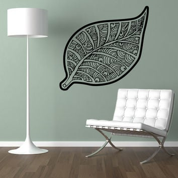Vinyl Wall Decal Sticker Leaf Art #OS_AA1722