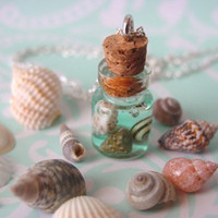 Beach In a Jar Necklace