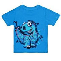 Clothing at Tesco | FF Blue dinosaur t-shirt > tops & t-shirts > Younger boys (1-7years) >