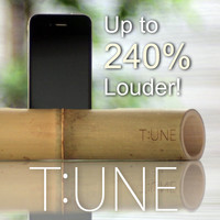 Nature Bamboo Portable Speaker for iPhone