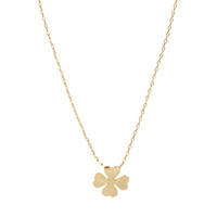 Orelia Clover Short Pendant Necklace