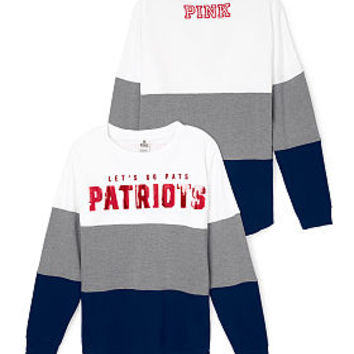 New England Patriots Varsity Crew - PINK - Victoria's Secret