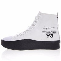 "2018 Y-3 Bashyo Trainer Boots ""White&Black""AC7518"