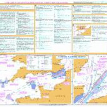 British Admiralty Nautical Chart 5500: Mariners' Routeing Guide - English Channel and Southern North Sea