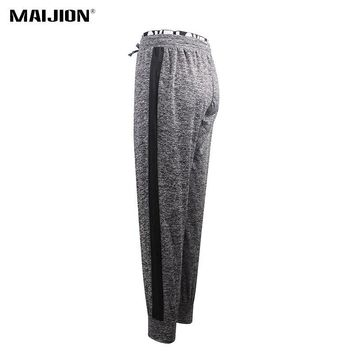 MAIJION Loose Printed High Waist Sport Running Pants Women Quick Dry Soft Fitness Trousers Elastic Breathable Yoga Workout Pants
