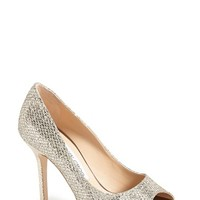 Women's Jimmy Choo 'Luna' Open Toe Pump,