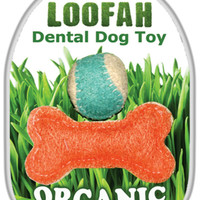 Loofah Dental Dog Toy Set