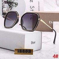 DIOR New Hot Sale Woman Leisure Summer Sun Shades Eyeglasses Glasses Sunglasses 4#