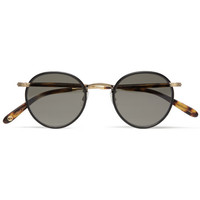 Garrett Leight California Optical - Wilson Round-Frame Sunglasses | MR PORTER