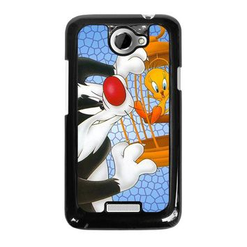 SYLVESTER AND TWEETY Looney Tunes HTC One X Case Cover