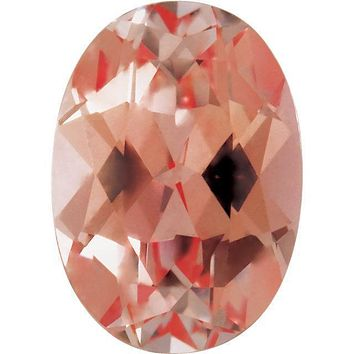 Oval FAB Lab-Grown Champagne Sapphire Gems