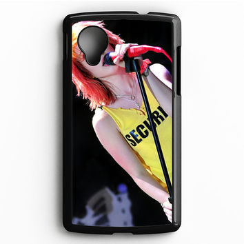 Hayley Williams Paramore Singer Nexus 5 Case