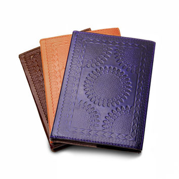 Embossed Leather Journals