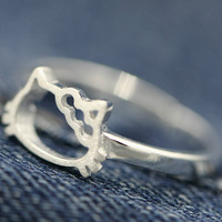 Jewelry Stylish New Arrival Shiny Gift 925 Silver Ring [7587131335]