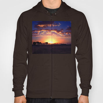Outback Sunset Hoody by Limmyth