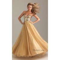 Empire Sweetheart Mini-Length Tulle and Sequins Prom Dress SEM0239