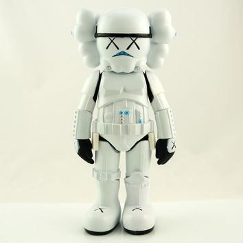Star Wars Force Episode 1 2 3 4 5 10 inch Storm Trooper by Kaws for  30th Anniversary kaws companion original fake with retail box AT_72_6