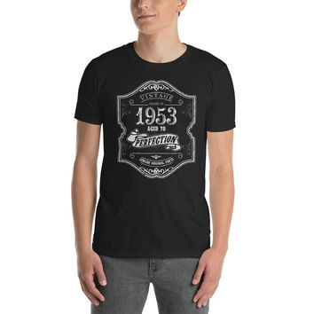 Made In Born in 1953 Birthday 65 years old T-shirt