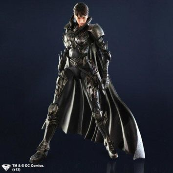 Square Enix Play Arts KAI Faora-Ul Man of Steel Action Figure