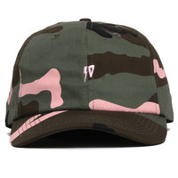 Surplus Strapback Dad Hat Meadowland Camo