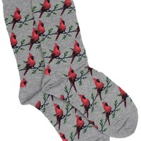 Hot Sox Cardinals Women's Crew Sock with Cardinals