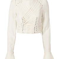 Zimmermann Lace-Up Cavalier Top - INTERMIX®